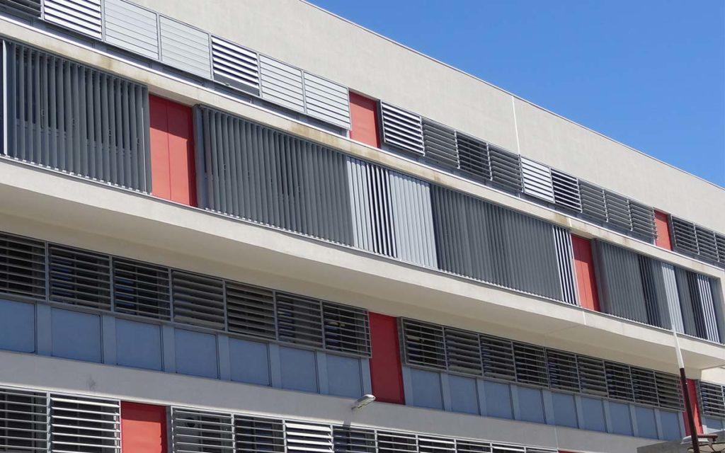 Brise-soleil en aluminium Helura par PAAL
