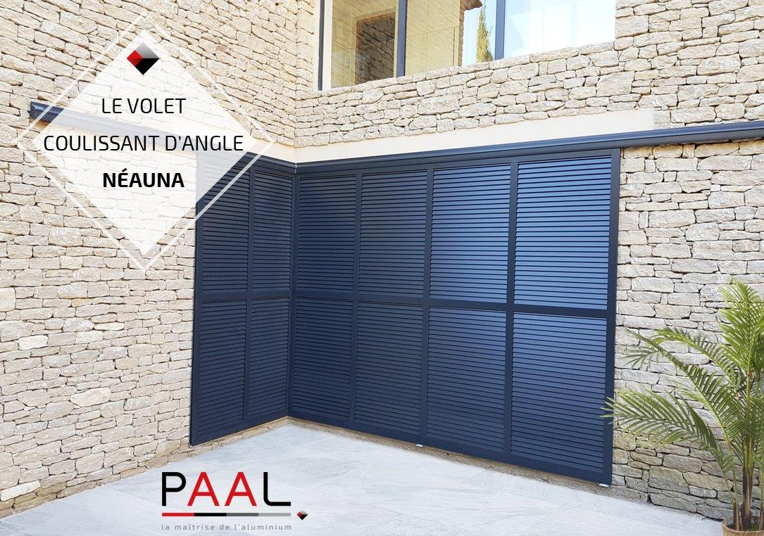 Fermetures-PAAL-concepteur-gammiste-Volet-coulissant-Neauna-en-angle-Fabrication-AIX-STORE-PROVENCE-Pose-MASFER