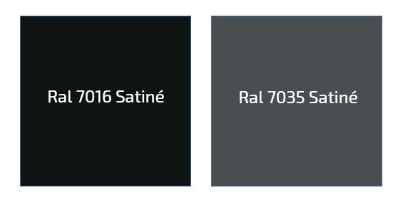Gris Ral 7016 Satiné & Ral 7035 Satiné-PAAL