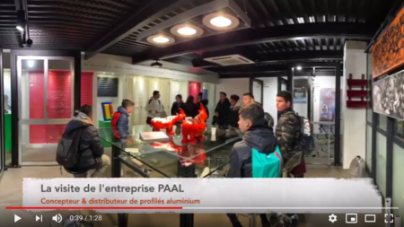 video visite PAAL collège simone veil