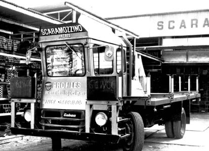 PAAL Renault Galion aménagé - utilitaire scaramozzino PAAL - Nice - 1961