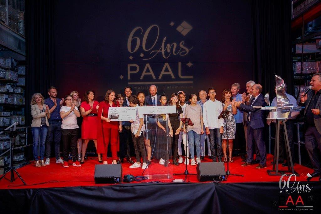 Finale Concours L'art et la Matière 2019 - 13 juin - Remise sur scène du prix Lauréat - Together 44 - Collège Simone Veil